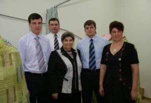 На открытии Красноярского филиала